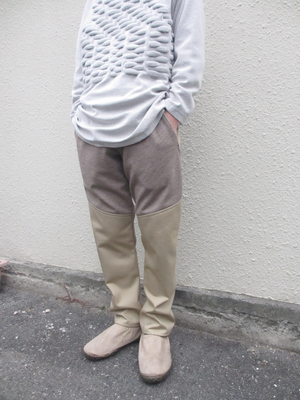 switching pants /beige