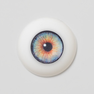 Silicone eye - 11mm Afghan Eyes