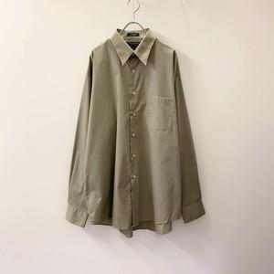 COLOURS ドレスシャツ カーキ系 size XL メンズ 古着
