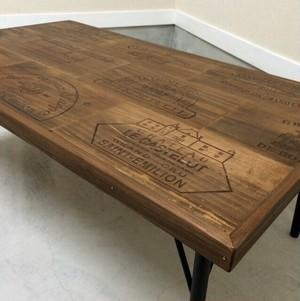 Wine Old wood table 受注製作 サイズオーダー可