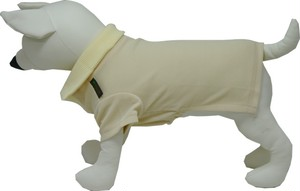 犬用 ポロシャツ 黄色カノコ(S.M.L.LL)税込