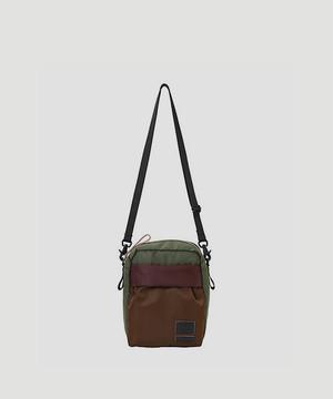 MARNI × PORTER Mini Shoulder Bag Olive × Brown BMP5U0P2946Z2F76UNI
