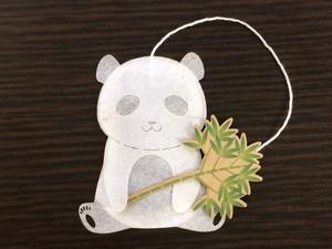 パンダのティーバッグ ジャスミン茶 1p入