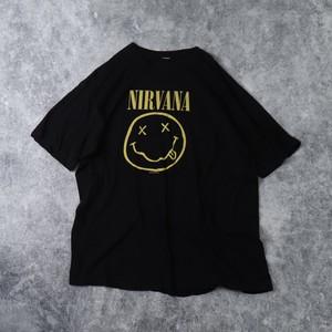""" NIRVANA "" ニルヴァーナ バンドTシャツ メンズL 古着 A453"