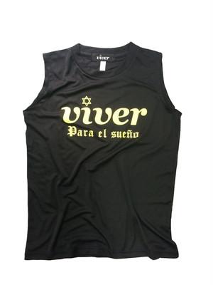 【viver performance time】プラクティスインナーシャツ2017 ブラック×ネオンイエロー