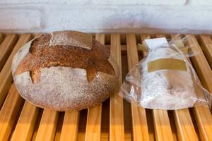 【季節限定セット】北海道産小麦粉100%オーガニックフルーツたっぷりのレピジャポネのシュトレン・古代麦(自然農)のパン・オ・ルヴァンのセット