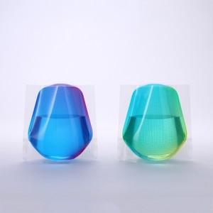 D-BROS / フラワーベースミニ グリーン&ブルー