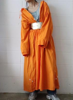 orange over size field jacket