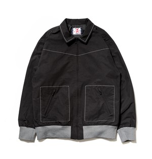 【SON OF THE CHEESE】Drizzler JKT BLACK