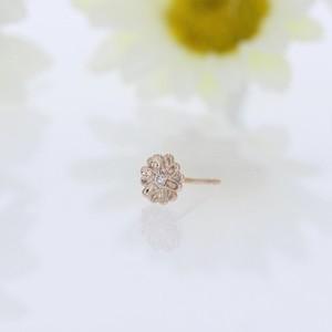 K10 / ピアス (片耳) / Daisy melee diamond pierce
