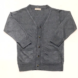 MARGARET HOWELL KID'S  LINEN CARDIGAN