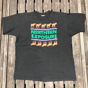 90s STANLEY DESANTIS 91年 NORTHERN EXPOSURE Tシャツ 実寸XL たどりつけばアラスカ 海外ドラマ