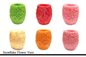 Snowflake Flower Vase