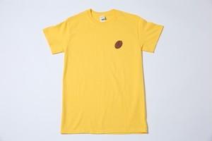 (黄)ブライアン コーヒー豆Tシャツ