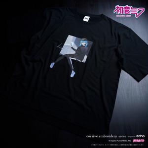 初音ミク 八三イラストTシャツ