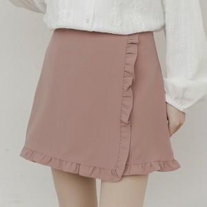 【ボトムス】春新作着痩せファッションハイウエストスカート