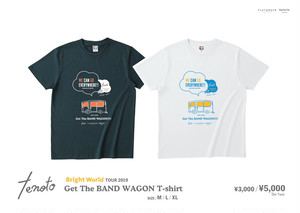 Get the BAND WAGON Tシャツ