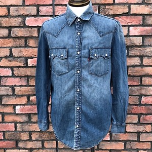 Euro Levi's Denim Shirt Made In Turkey Small