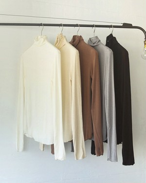 Soft Turtleneck Tops