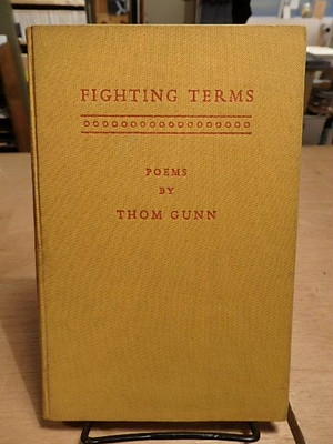 Fighting Terms / Thom Gunn(トム・ガン)