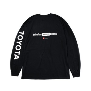 "TOYOTA ""DYTD"" Long Sleeve - Black"