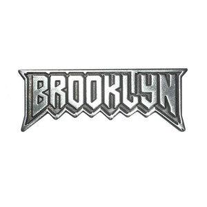 "scumbags&superstars""Brooklyn Pin (Silver)"""