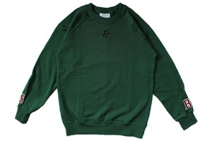 S & B sweat shirt (GREEN)