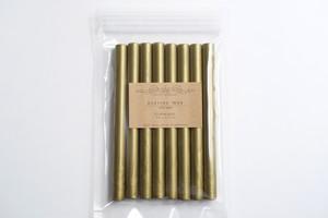 Sealing Wax stick 02.Blue gold  シーリングワックス グルーガン ブルーゴールド
