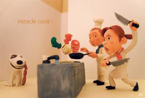 ポストカード「キッチン」