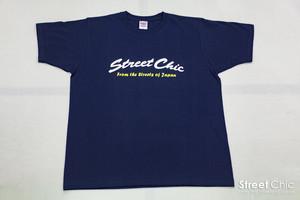 Crew - Tシャツ Curve [NAVY]