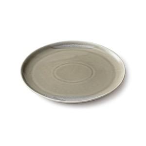 aito製作所 「Itsumo いつも」 おいしくもれる カフェプレート 皿 約23×21cm グレー 美濃焼 262034