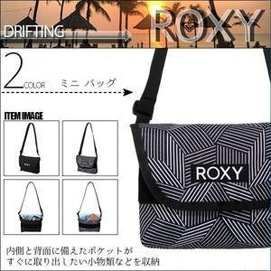 RBG204307 ロキシー ミニバッグ ショルダーバッグ レディース 通販 人気 ブランド 可愛い 旅行 プレゼント ブラック ストライプ 黒 小さめ DRIFTING ROXY
