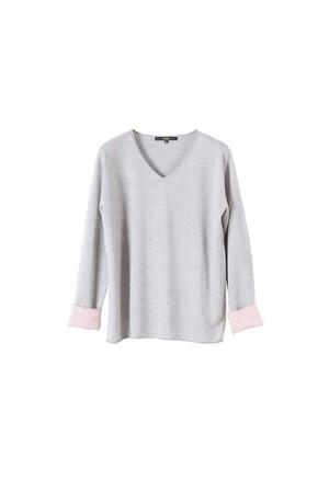 NARAN CASHMERE / シルクカシミヤVネックセーター