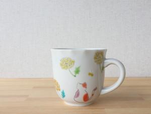 三毛猫みーちゃん(春) マグカップ