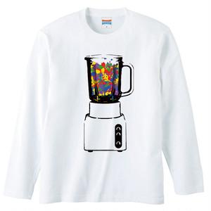 [ロングスリーブTシャツ] Mix juice