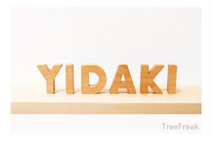 YIDAKI イダキの切り文字(S) インテリア(イダキ ディジュリドゥ)