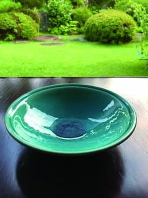作家作品 瑠璃鉢の皿