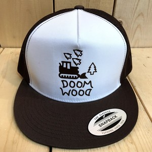 Doomsayers Doom Wood Trucker Cap
