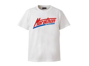 T-SHIRT M319105-WHITE / Tシャツ ホワイト WHITE / MARATHON JACKSON マラソン ジャクソン