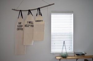 親子でお揃いカフェエプロン