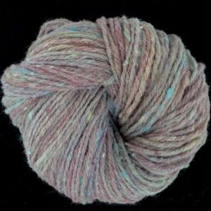 手紡ぎ毛糸:マンクス+トカチ:緑:90g