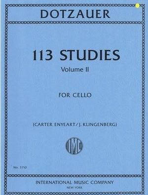 ドッツァウアー:113の練習曲 第2巻 / チェロ独奏