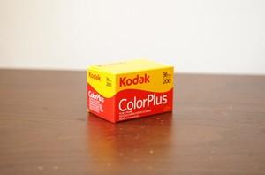 【カラーネガフィルム 35mm】Kodak(コダック)COLORPULUS200 36枚撮り