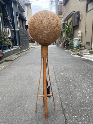 2021/1/27まで商談中 vintage bamboo stand light