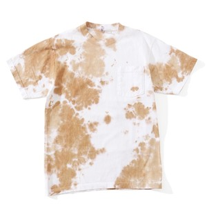 IFNi COFFEE DYE S/S T-SHIRT [ BEIGE ]