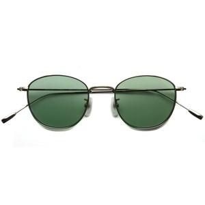 BOSTON CLUB ボストンクラブ / FORD Sun / 01 Titanium- Light Green Lenses チタンカラー-ライトグリーンレンズ ボストンウェリントンメタルサングラス