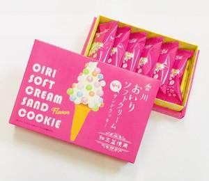香川 おいりソフトクリーム風味 サンドクッキー 6個入