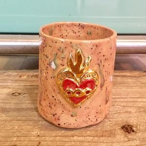 Koyomi Yanagimoto burn heart vase
