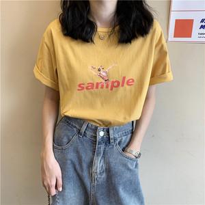 コラージュプリントTシャツ RD5994