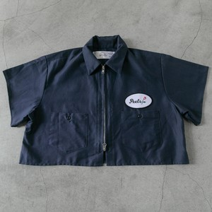 Peels 90's Crop-zip Navy